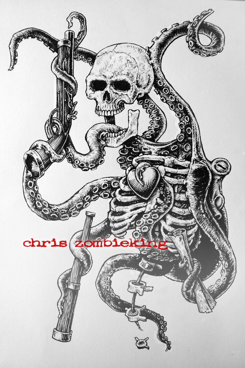 Tentacles Skeletons And Pirate Paraphernalia Brainzzz Or GTFO